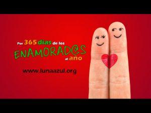 365 días de los enamorados al año en Luna Azul
