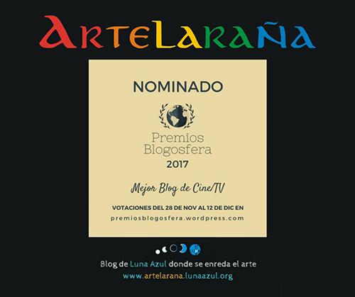 Artelaraña, nominado a Mejor Blog de Cine 2017 en Premios Blogosfera 2017