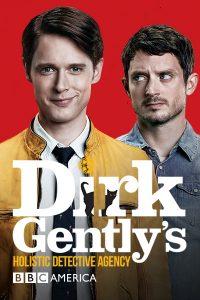 Cartel de Dirk Gently, agencia de detectives holísticos