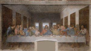 La última cena, de Leornardo Da Vinci