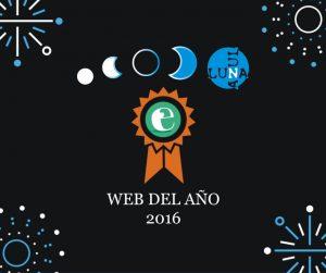 Nuestra inocentada: Luna Azul, Web del año 2016 para Verne