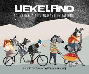 Liekeland y sus amables y ecológicas ilustraciones