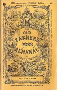 The Old Farmers' Almanac de 1968